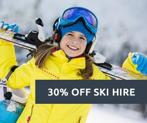 30% off ski hire