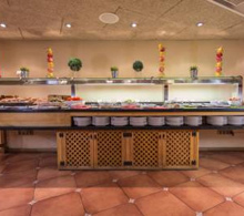 Buffet at Hotel Magic Pas