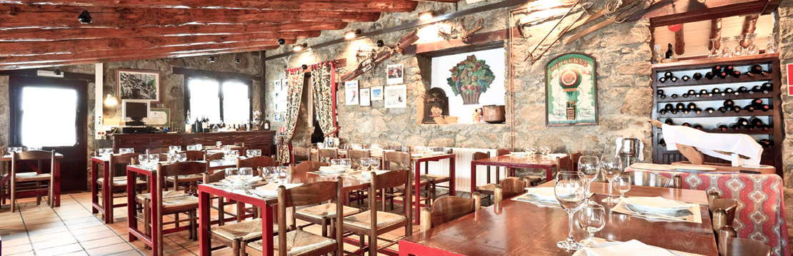Inside of Restaurant in Grandvalira