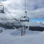 Views from Pic Blanc chair lift heading from Grau Roig to Pas de la Casa