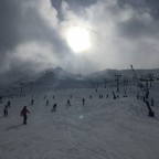 Face of Pas de la Casa from the base of the slopes