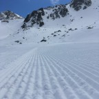 Fresh corduroy- what a dream to ride