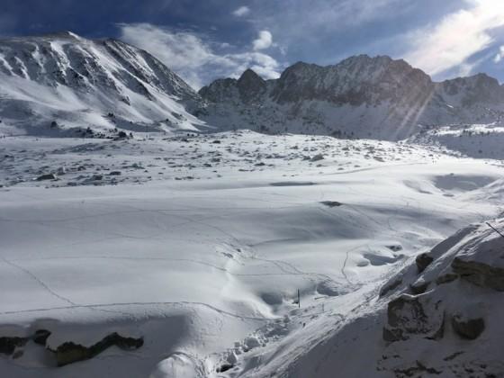 The quality of the snow was powder in Pas de la Casa