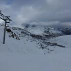 View of Pas de la Casa coming down Llac red run