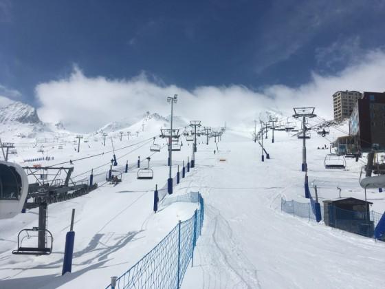 Base of slopes
