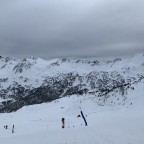 Top of the Mirador black run