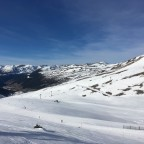 Looking behind to Grandalles, Grau Roig, from Pic Blanc chairlift