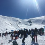Speed Skiing World Cup Finals - Riberal black slope, Grandvalira Grau Roig