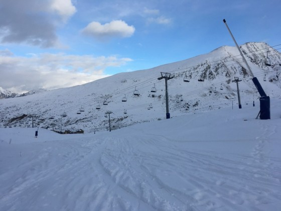 The slope Directa has been tracked already