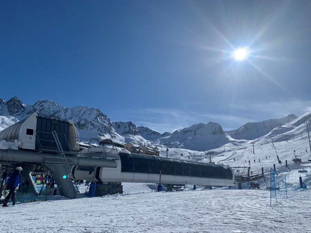 TK Pic Blanc chairlift