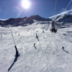 A view from the chairlift