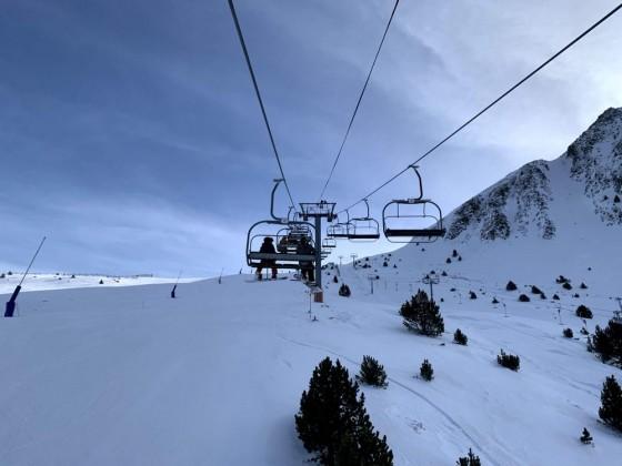 Llac de Cubil lift