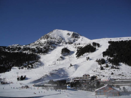 Base area in Grau Roig - 24th December
