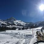 Incredible views on the mushing circuit in Grau Roig