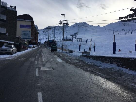 The road to the slopes of Pas de la Casa