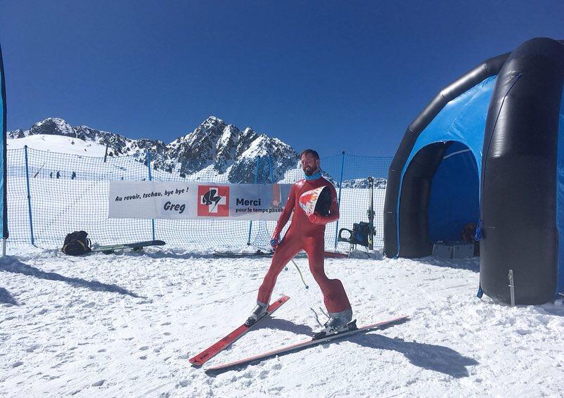 Speed Skiing World Cup Finals - Riberal black slope, Grandvalira Grau Roig