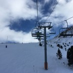 Views from Llac del Cubil chairlift