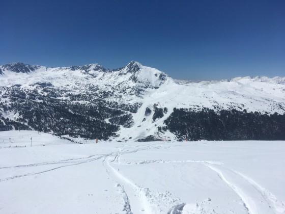 Grau Roig from top of Pas de la Casa