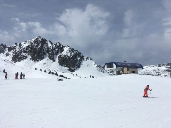 Top of Coma Blanca chairlift