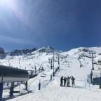 Base of slopes by TSD4 Pas de la Casa chairlift