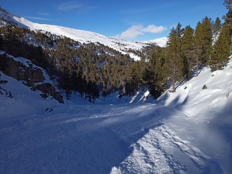 The off piste next to Pessons
