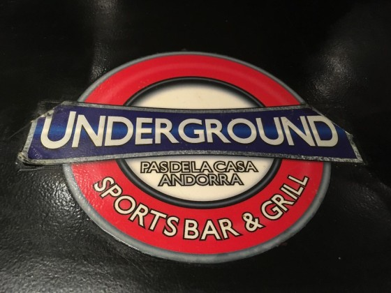Underground Bar and Grill - one of the best places in town!
