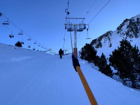 Llac del Cubil drag lift