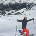 Happy skier!