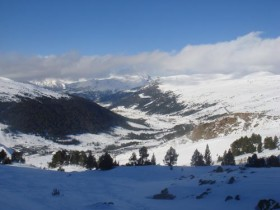View From Portella Down The valley