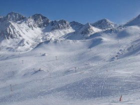 View From Pas de la Casa Chairlift