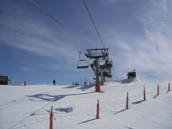 Antenes chair lift 31/03