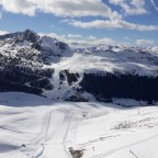 View of Grau Roig from top of Riberal black run