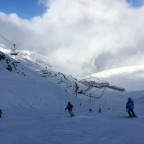 Clouds rolling into the valley in Grandvalira-Pas de la Casa making for an atmospheric ride back into resort!