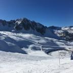 Semi frozen reservoir in Grau Roig