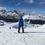 Under the Pic Blanc chairlift