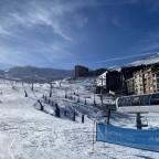 The bottom of the slopes in Pas de la Casa