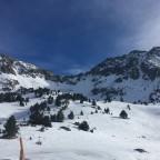 View from Entradort run