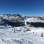 From the top of TSD6 Font Negre chairlift, looking towards Grandvalira Grau Roig