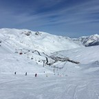 Dreamy skies and awesome snow conditions in Pas de la Casa!