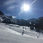 Views of Grau Roig from the Pic Blanc chairlift