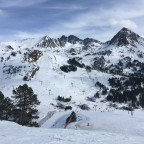 Grau Roig valley from Moreto red run