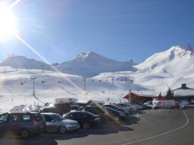Car Park By The Slopes