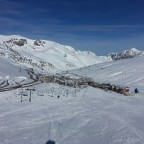 View of resort front Directa red run