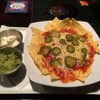 Bar snacks in Paddy's Irish Pub - Yummy Nachos!