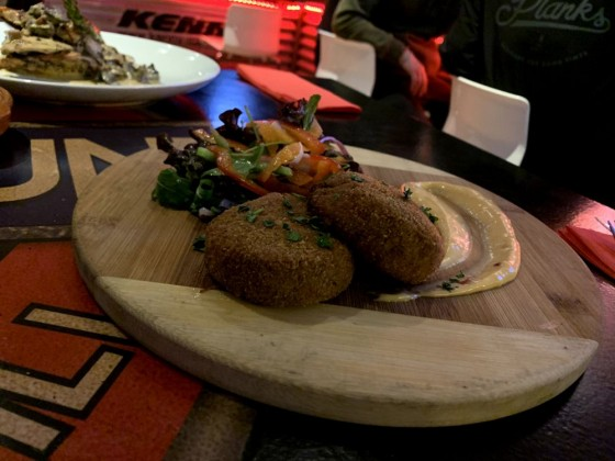 Fishcakes at Underground Sportsbar & Grill