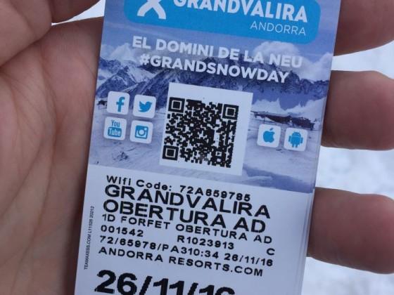Opening day in Grandvalira Pas de la Casa