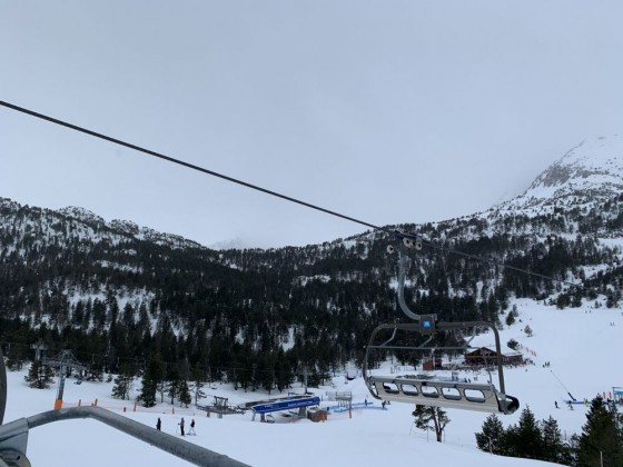 Xavi chairlift/Tres Estanys from Pic Blanc chairlift