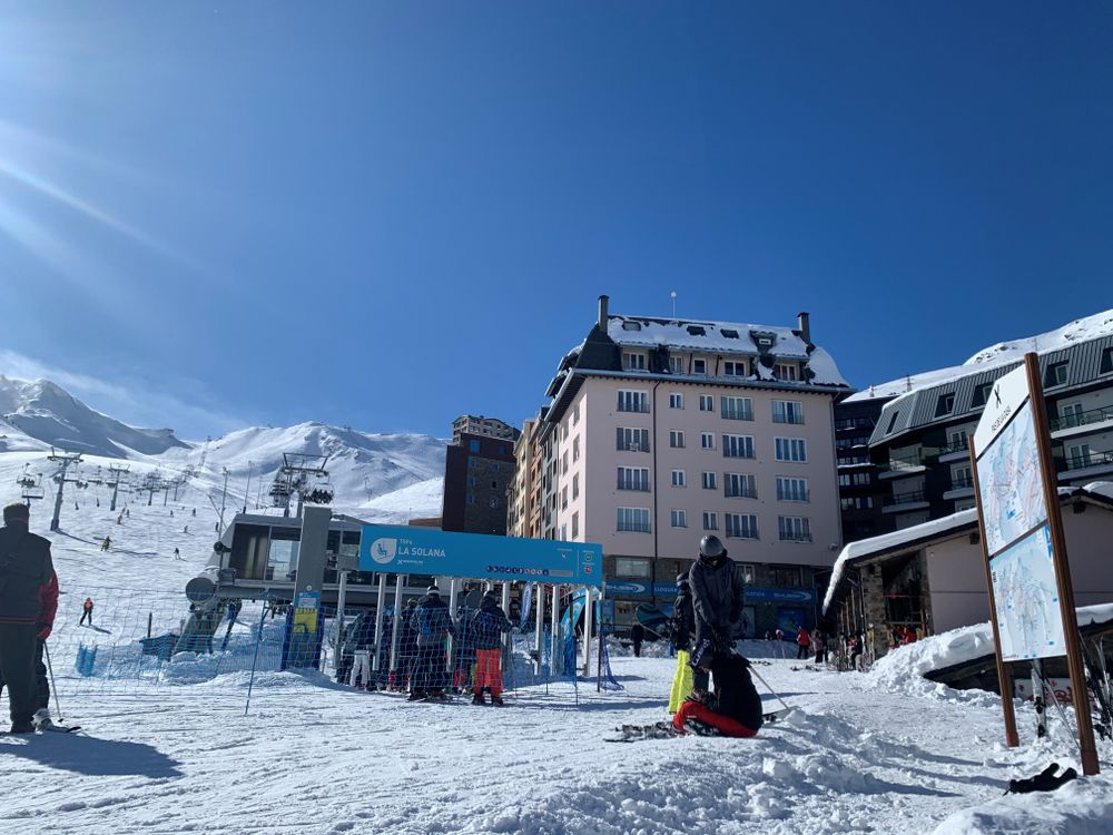 TSF4 Solana chairlift