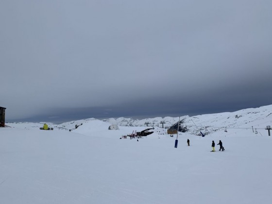 The top of TSD6 Coma blanca chairlift
