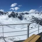 View of Grau Roig from Coll Blanc restaurant